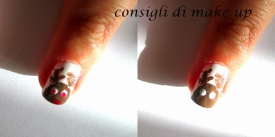 tutorial nail art natalizia facile