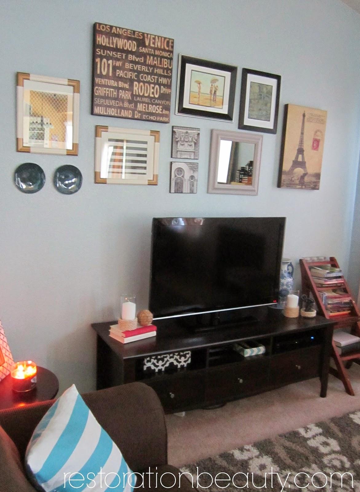 Restoration Beauty Living Room Spring Summer Updates
