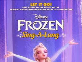 #DisneyFrozen: Sing-A-Long!