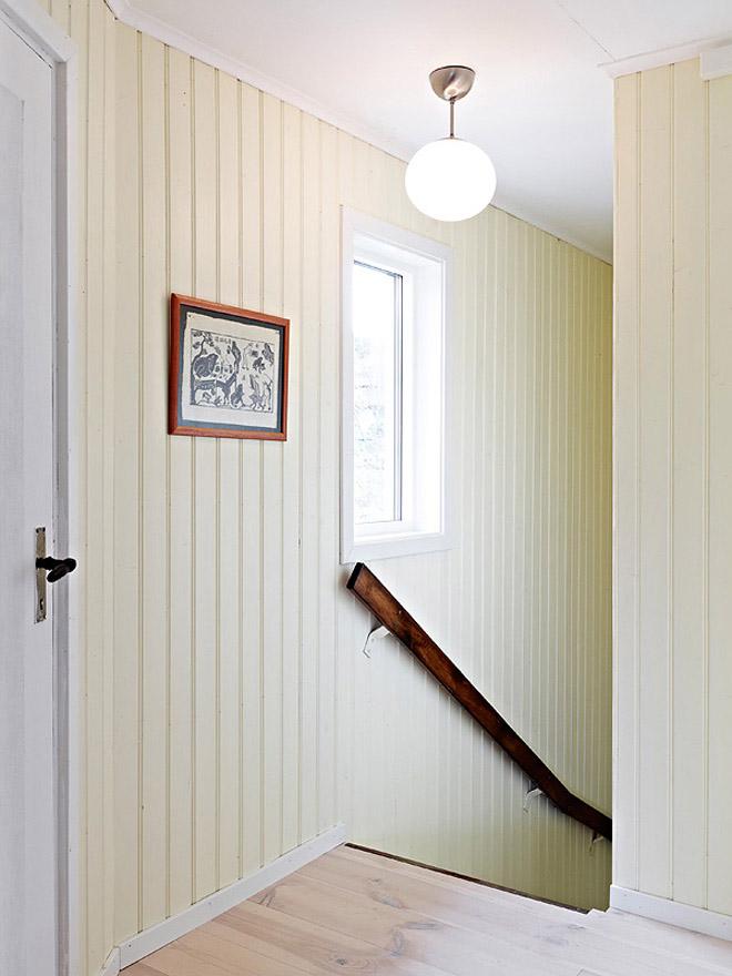 casa de campo diseño interior rustico actual -salida escalera