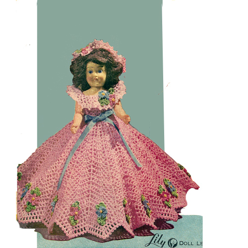 Todays Treasure Shop Talk: Crochet Doll Dresses, Crinoline Sweetheart ...