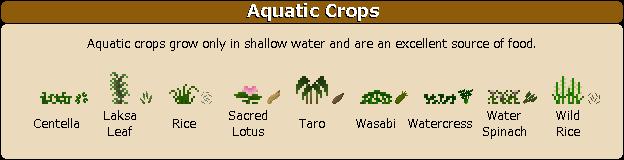 Plant Mega Pack Mod aquatic crops