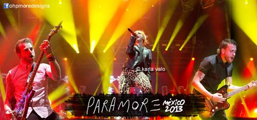 Paramore México 2013