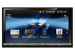 Head Unit Double Din Sony XAV-741