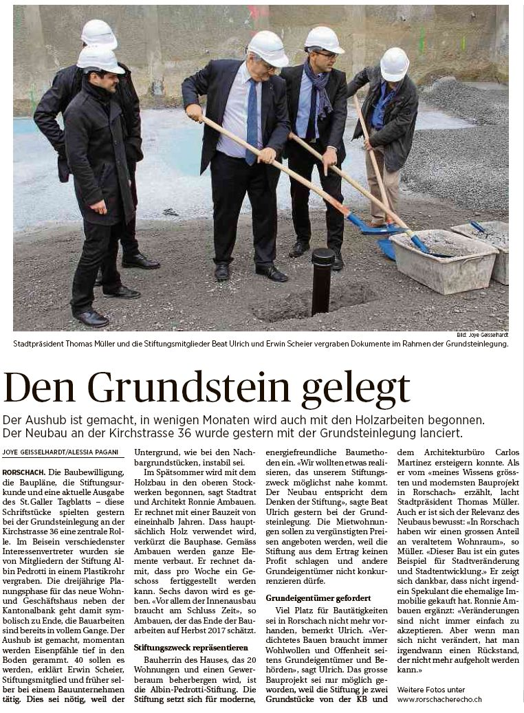Tagblatt vom 31.03.16