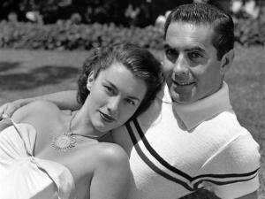 Linda Christian dan Tyrone Power