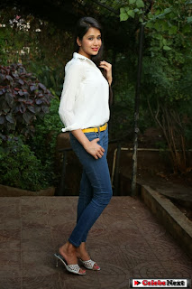 Actress Krutika Singhaal Pictures in Tight Jeans at Silk India Expo 2014  0048.jpg