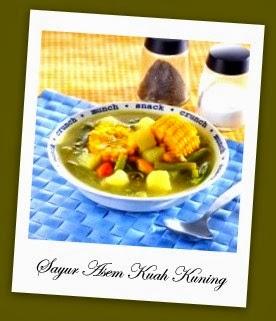 Resep Membuat Sayur Asem Kuah Kuning