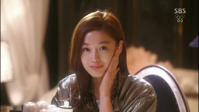 Image of Jun Ji Hyun - Hanyul Rice Essential Skin Softener Cheon Song Yi - pinknomenal.blogspot.com