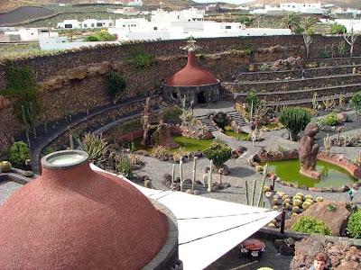 Jardín de Cactus en Lanzarote - Cesar Manrique - que visitar