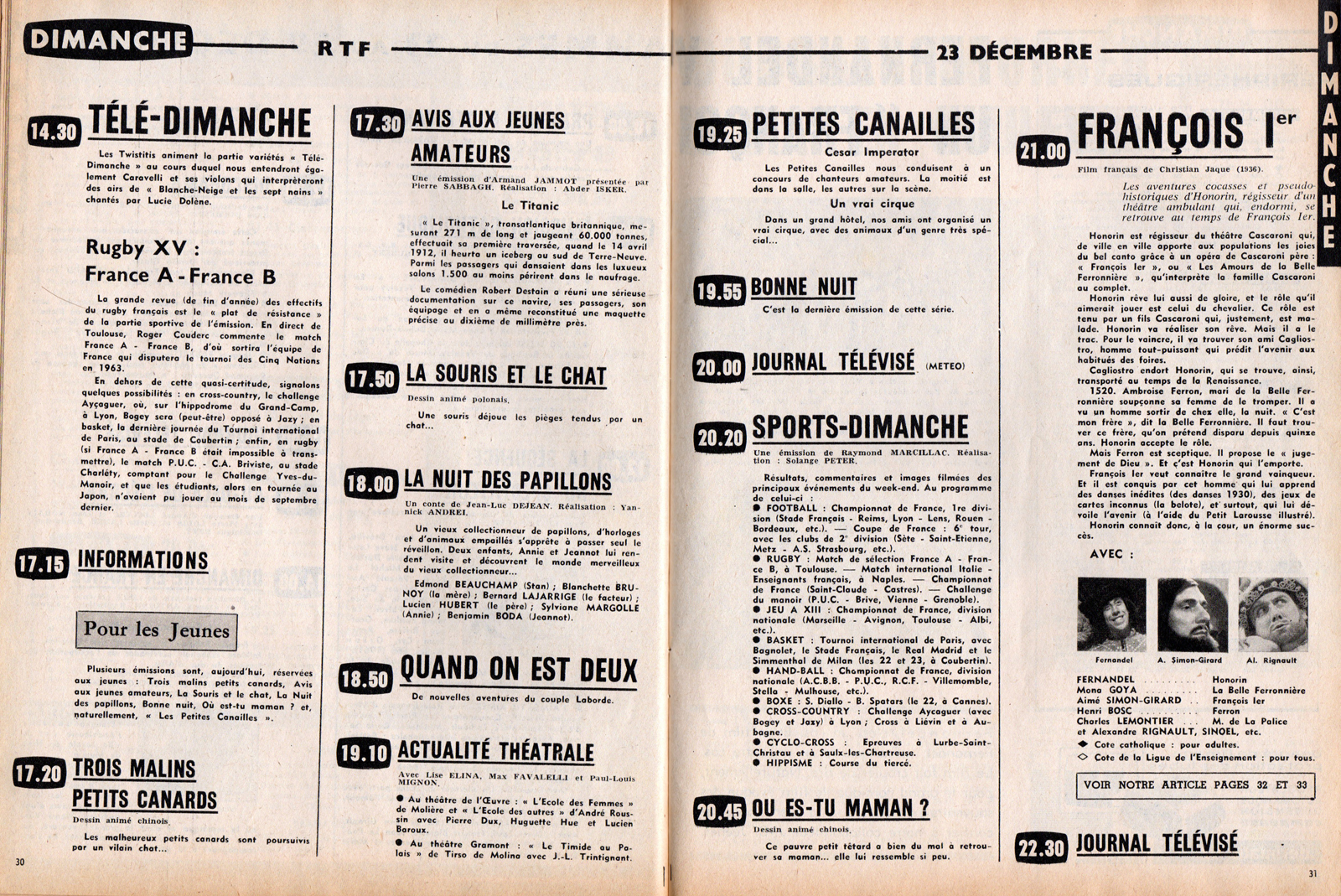filmic light snow white archive 1962 french tv guide. Black Bedroom Furniture Sets. Home Design Ideas