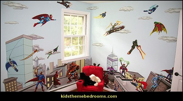 Decorating theme bedrooms - Maries Manor: Superhero bedroom ideas ...