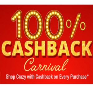 Shopclues 100% Cashback Carnival : Get 100% Cashback on your Purchase