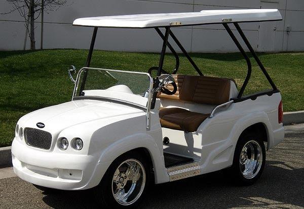 Most Luxurious Golf Carts
