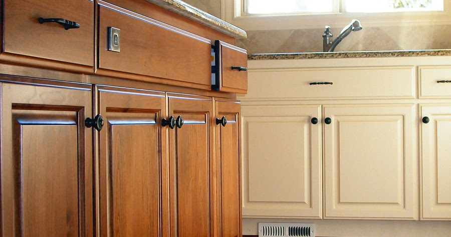 how to clean greasy kitchen cabinet hardware