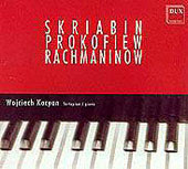 Cover of Wojciech Kocyan's CD