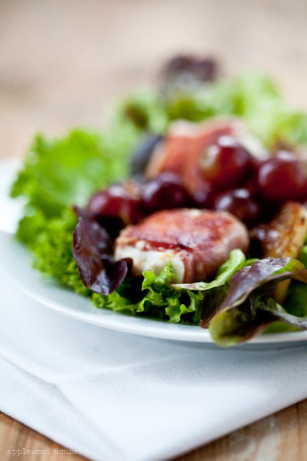 Mit Speck Fängt Man Mäuse Und Mit Einem Salat Mit Gegrillten Bacon
