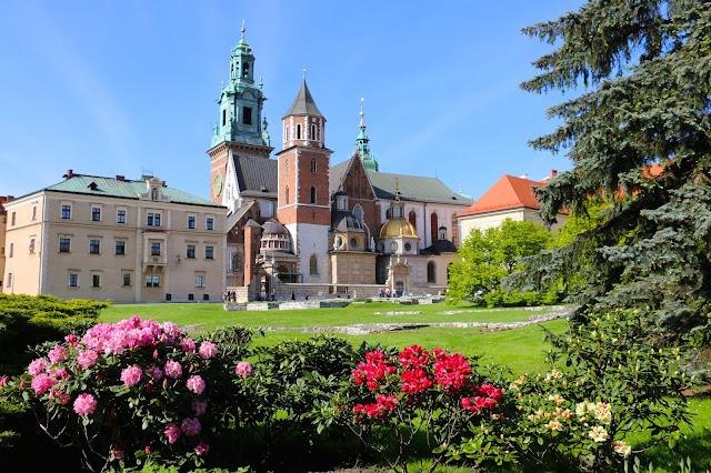 Castelo Wawel, Patrimônio Mundial da UNESCO na Cracóvia.