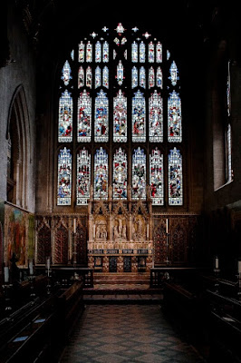 Chancel of Croydon Minster