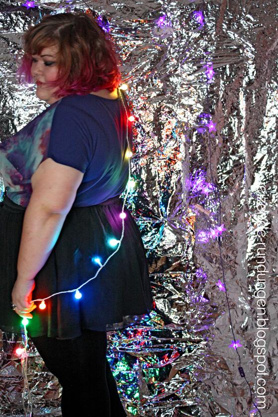 Reizende rundungen ootd kaleidoscope colors for Lichterkette tumblr
