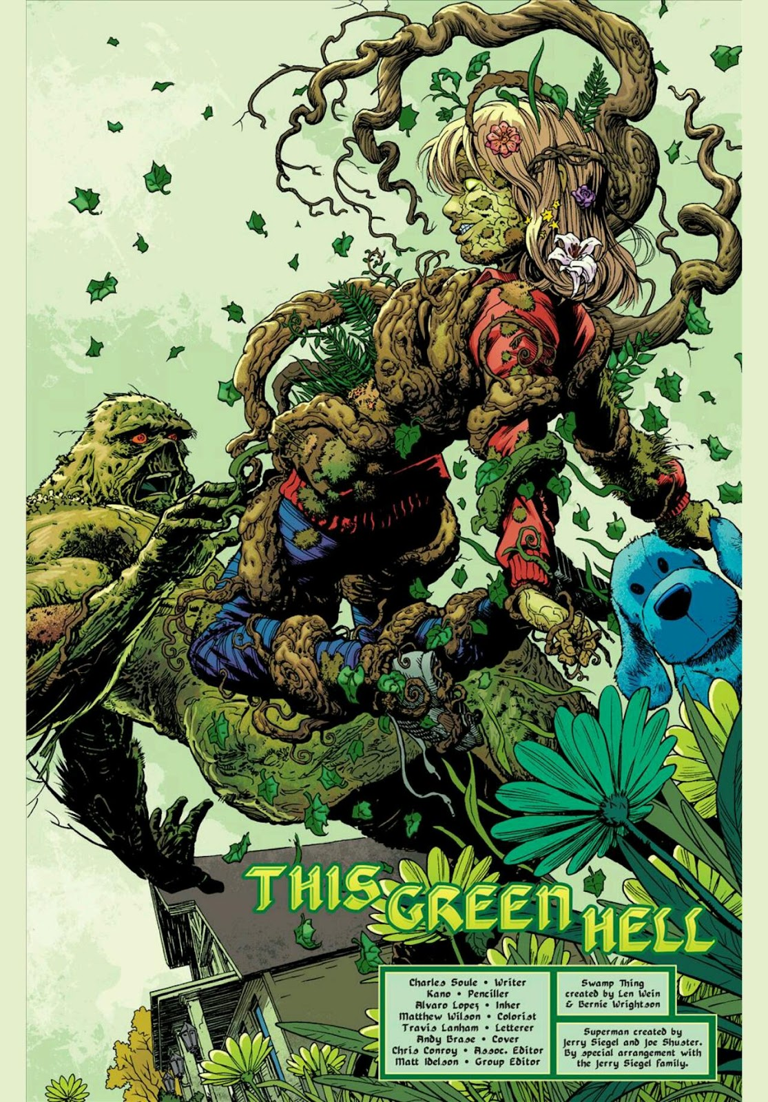Quick Ratings: @DCComics The Movement, Swamp Thing ...  Deathstroke Vs Green Lantern