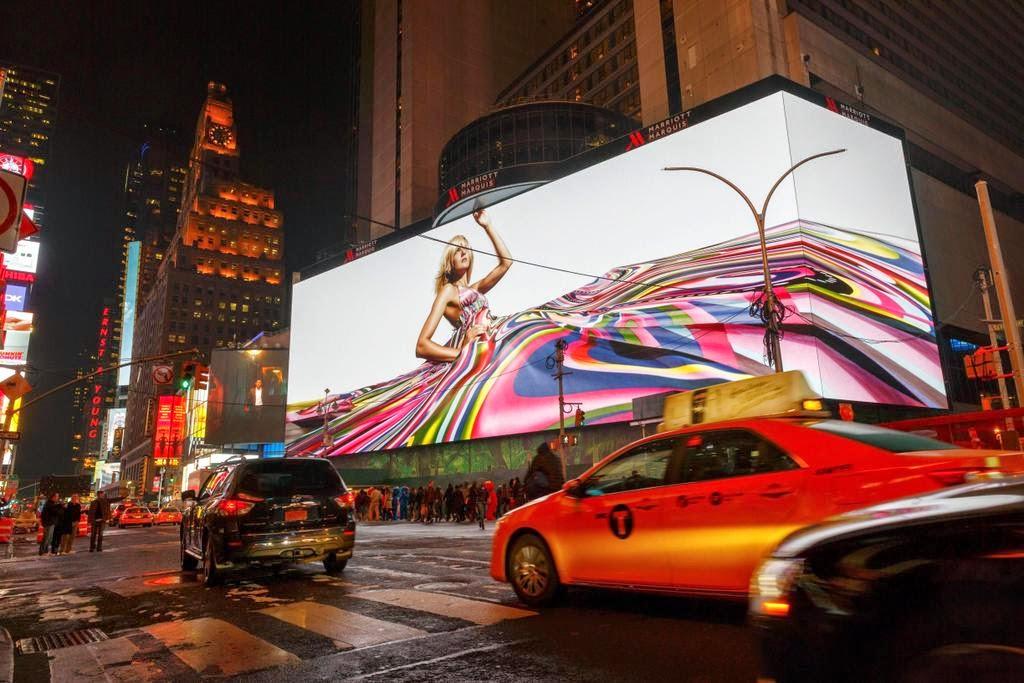 reklám, Google, New York, Times Square, technológia, USA,