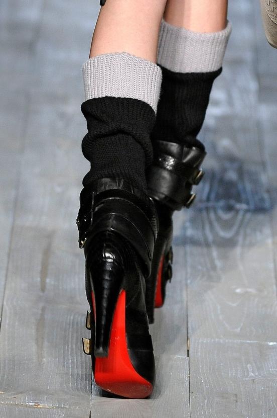 Фото зимних модных сапог