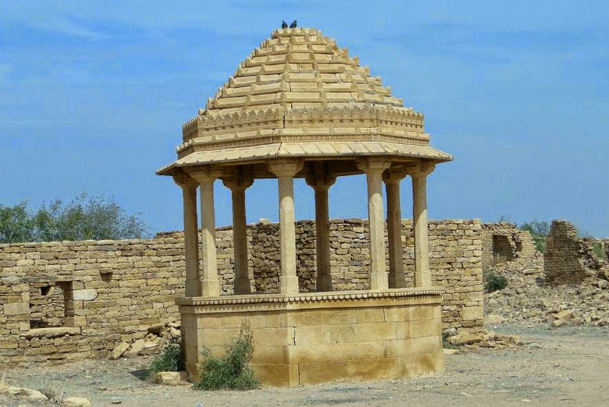 Marvellous architectural structures in Kuldhara