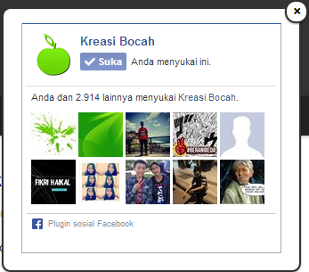 Cara Membuat Like Box Facebook Melayang Di Blog
