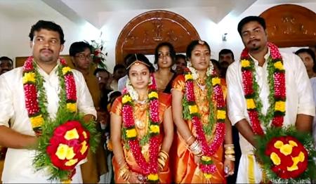 Twins marriage – Kerala hindu wedding highlights