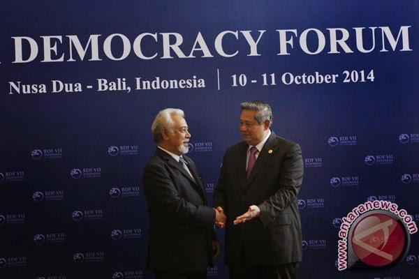 Xanana Gusmao and Bali Democratic Forum