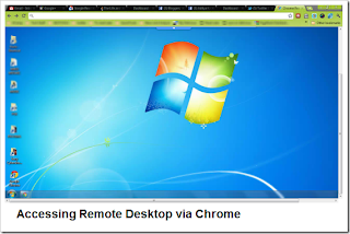 How to access and control remote desktop PC using Google Chrome