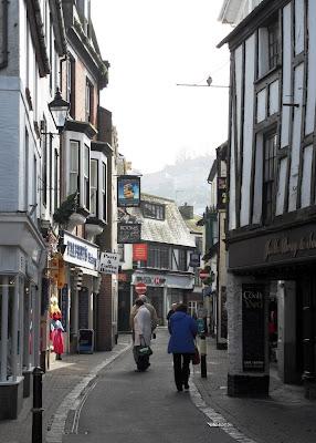 Looe town Cornwall