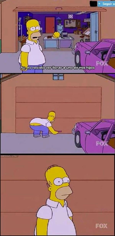 Homero es un buen padre