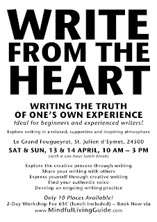 Write from the Heart Writing Workshop — St. Julien d'Eymet