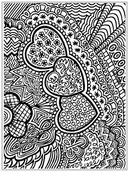 Adult Geometric Coloring Pages Printable