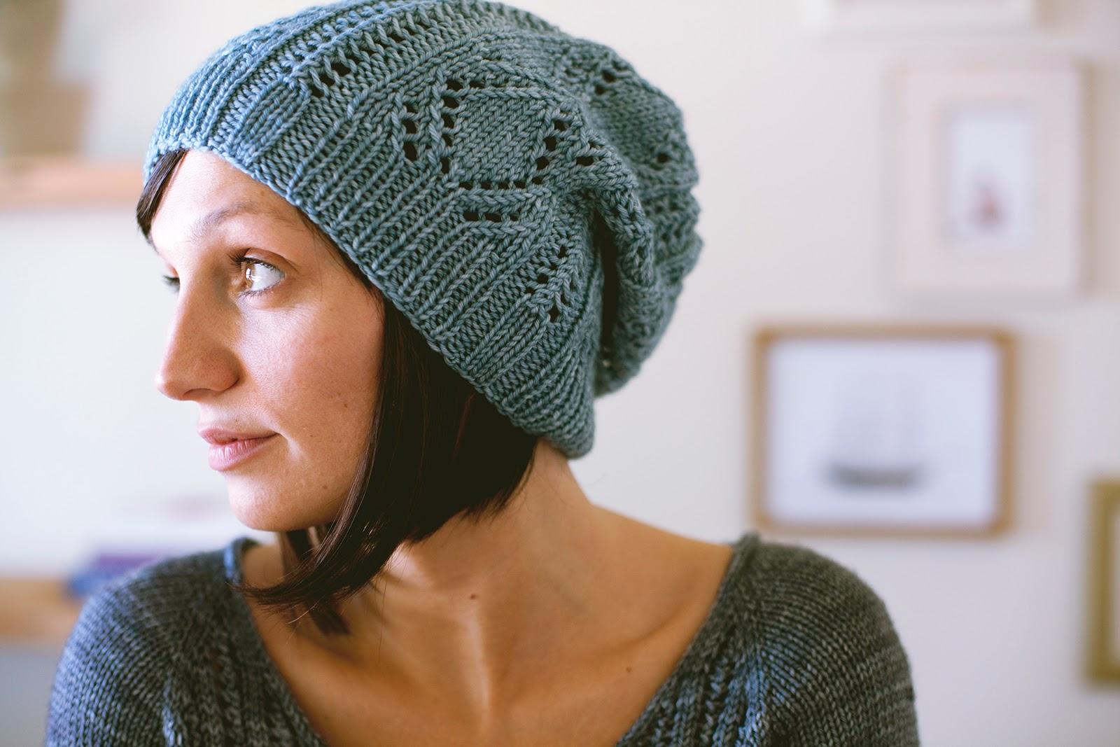 Schwimmen Hat Pattern from Shannon Cook of VeryShannon.com #schwimmen #seasonlessknits