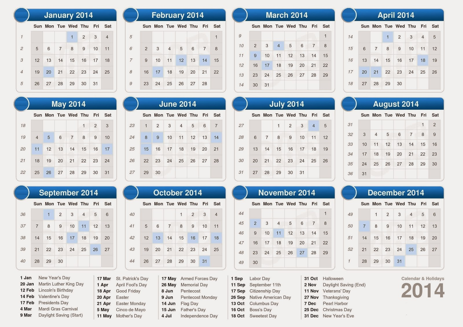 hq wallpapers 2014 new year calendar