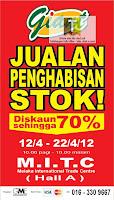 GIANT Stock Clearance Sale Melaka
