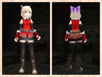 冒険者の服・赤1