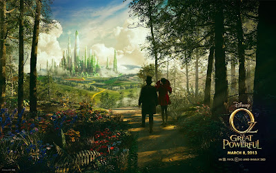Oz the Great and Powerful disney fantasy movie wallpapers