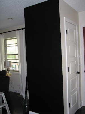 Chalkboard Wall {rainonatinroof.com} #chalkboard #quotes
