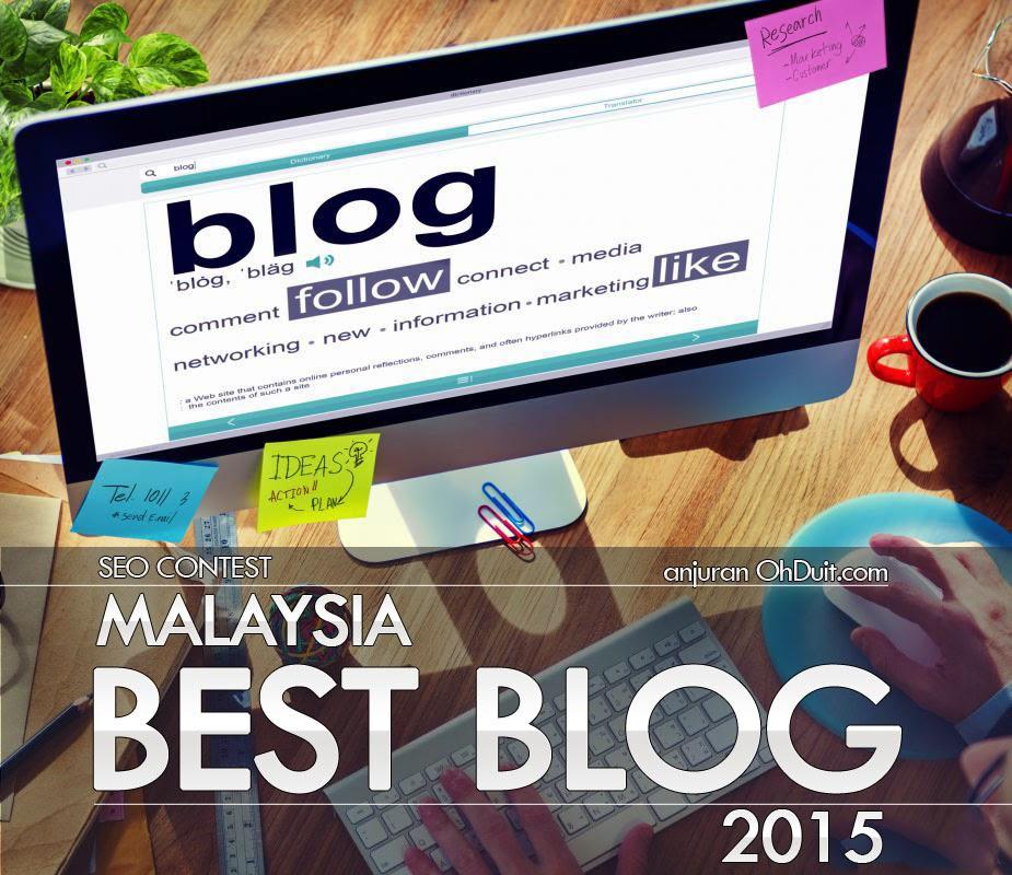 contest SEO malaysia best blog 2015 anjuran ohduit.com