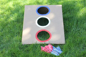 Stars and Stripes Bean Bag Toss