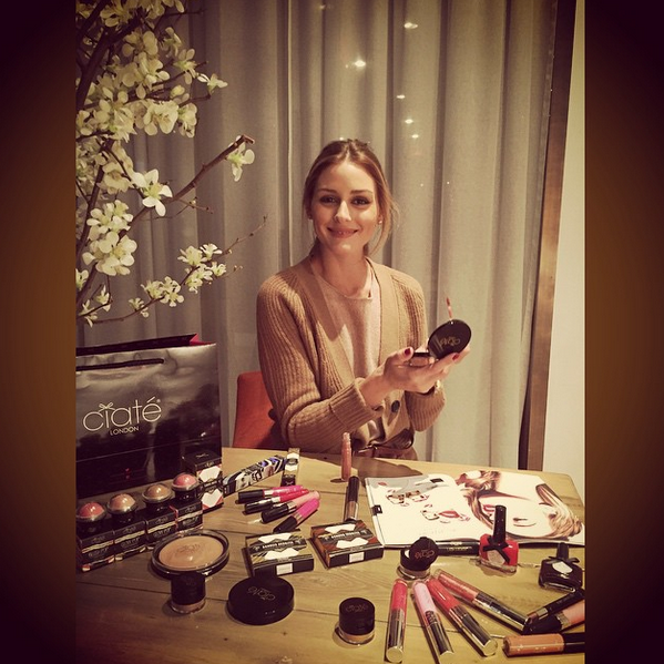 Olivia Palermo for Ciate UK
