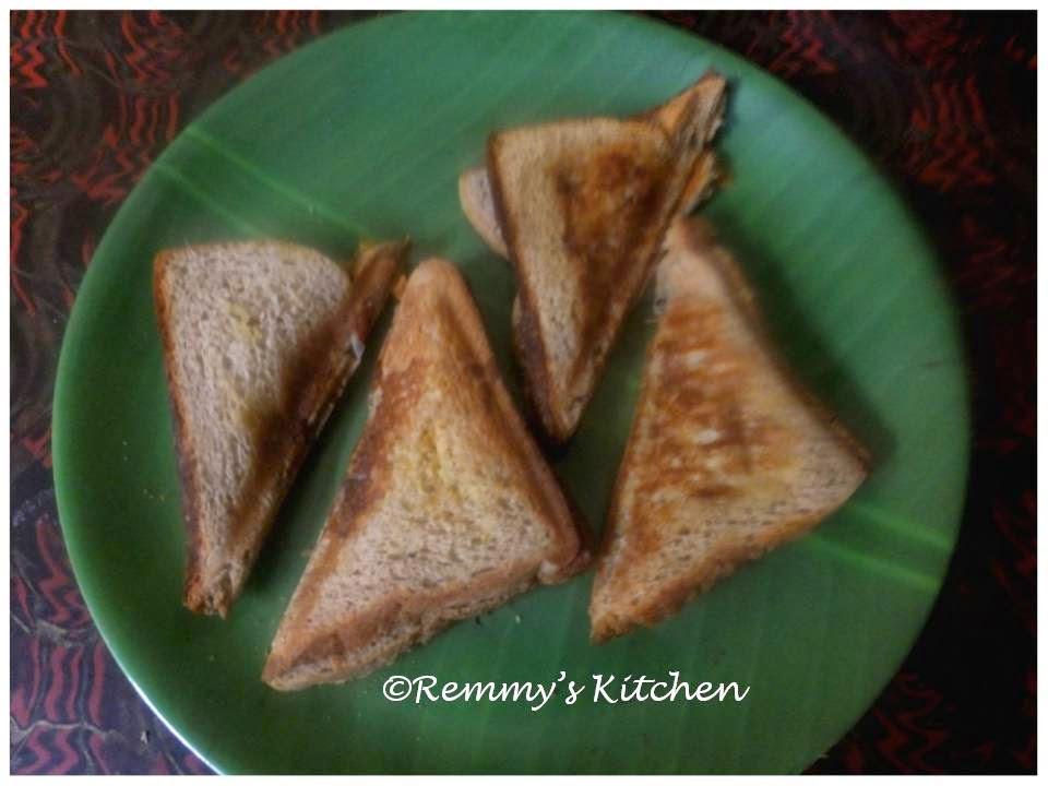 Easy bread sandwich