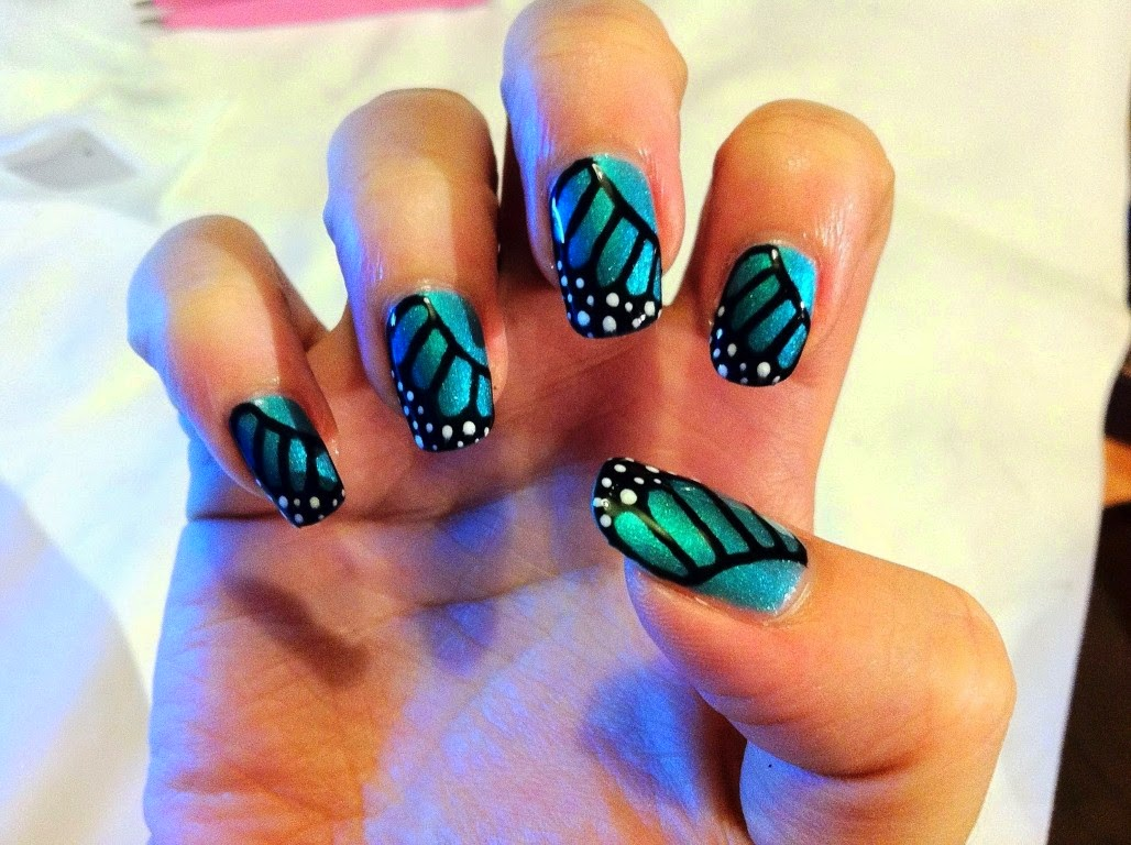 french nail designs, cute french nail designs, summer nail designs 2014