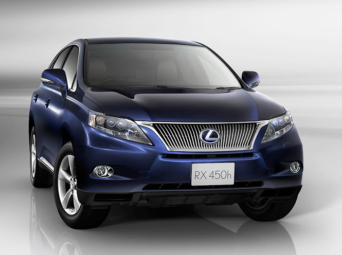 The Best Of Automotive  2011 LEXUS RX 450h 5 Door SUV