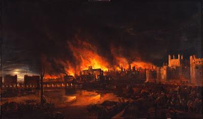 Londra tarihi yangın