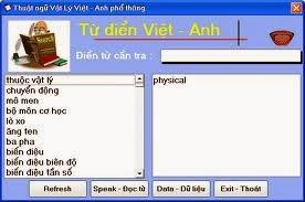 Từ Điển Vật Lý Anh - Việt